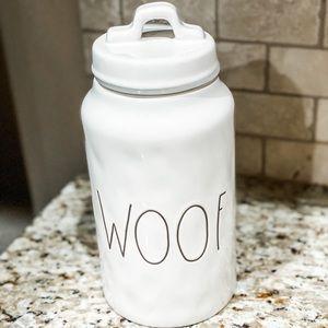 Rae Dunn Woof Canister/Jar